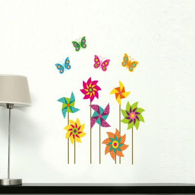 Sticker perete Paper Windmills