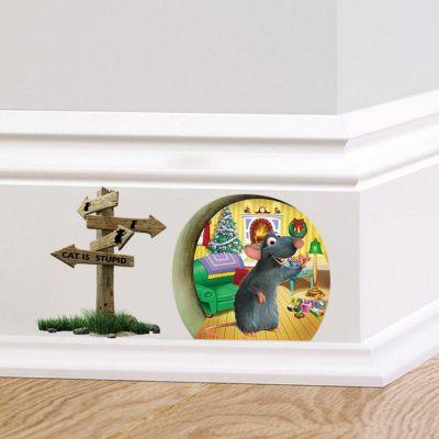 Sticker perete Ratatouille 20 x 10 cm