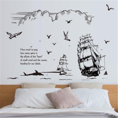 Sticker perete Sail Across Oceans