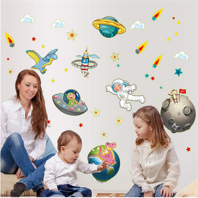 Sticker perete Space and Planets