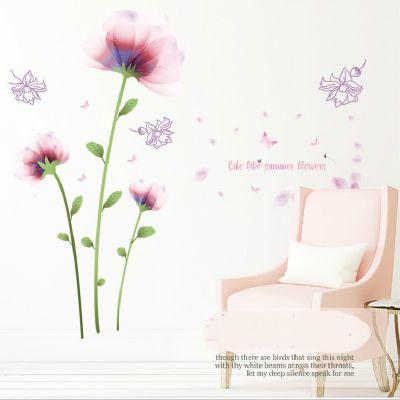 Sticker perete Summer Flowers