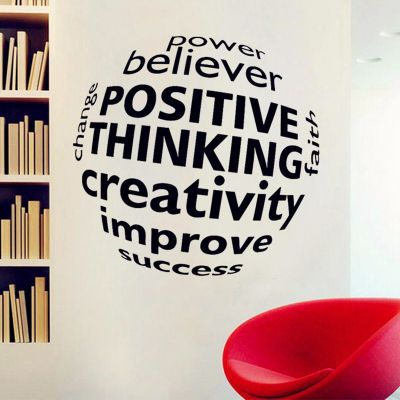 Sticker perete The Power Of Positive Thinking