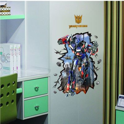 Sticker perete Transformers 3D