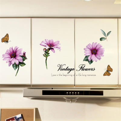 Sticker perete Vintage Flowers