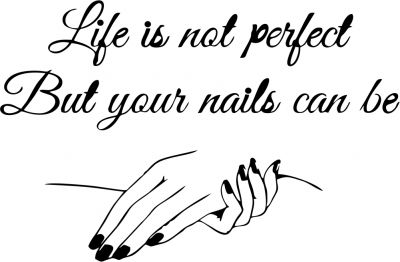 Sticker perete Perfect Nails