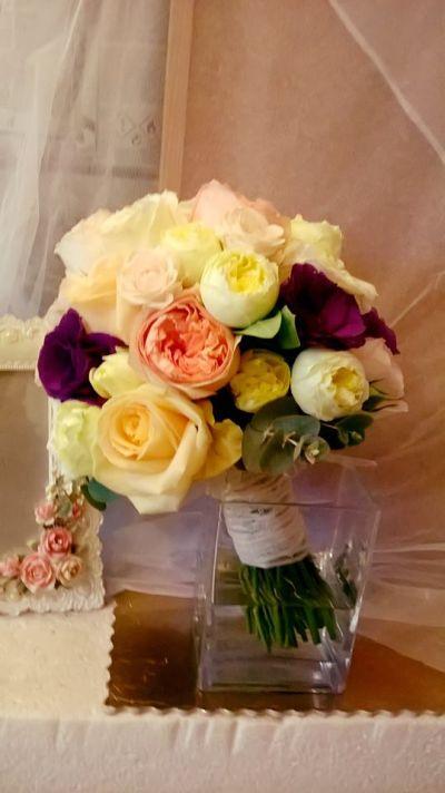 Wedding Piano Roses