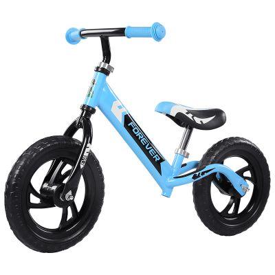 Bicicleta fara pedale (pedagogica) Forever Balance Bike, scaun reglabil, Bleu
