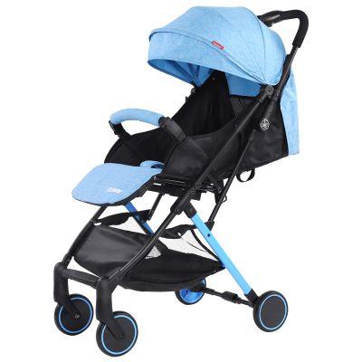 Carucior sport Forever Stroller, spatar reglabil, 2 frane, Bleu