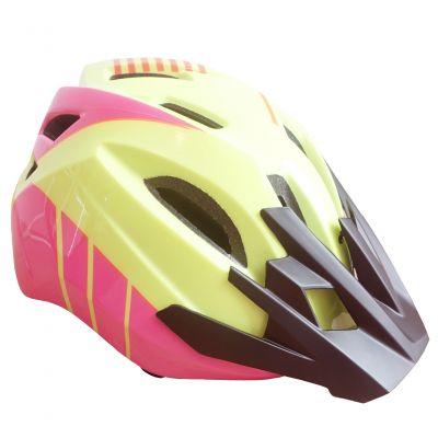 Casca sport pentru bicicleta Forever Children Helmet, LW-103, Galben