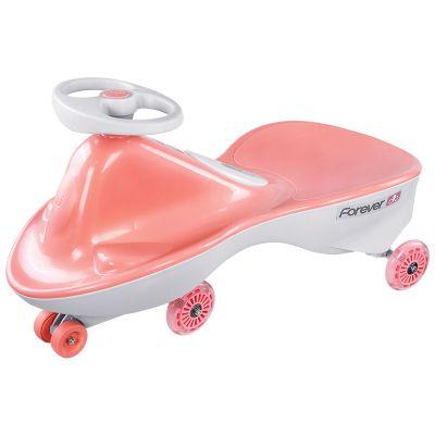 Masinuta pentru copii Forever Twist Car Crystal, Roz