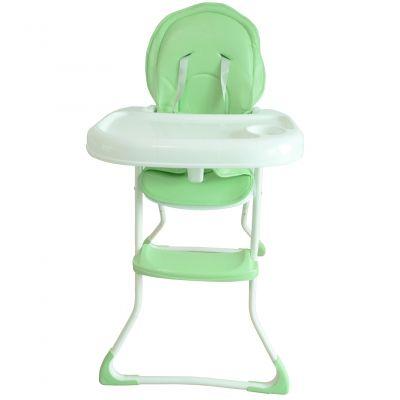 Scaun de masa copii Montasen High Chair, reglabil, 6-36 luni, Verde