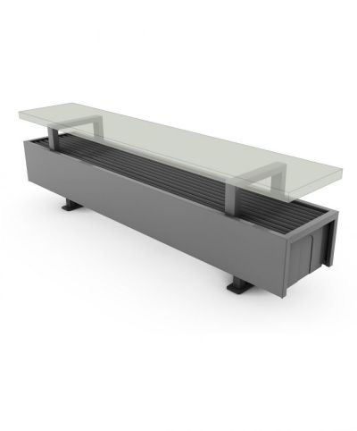 Calorifere Mini Freestanding 130x800x130 mm, 404 W
