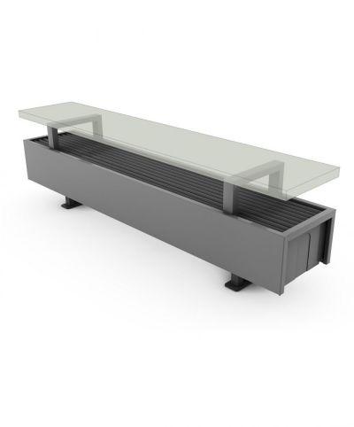 Calorifere Mini Freestanding 80x1200x180 mm, 833 W