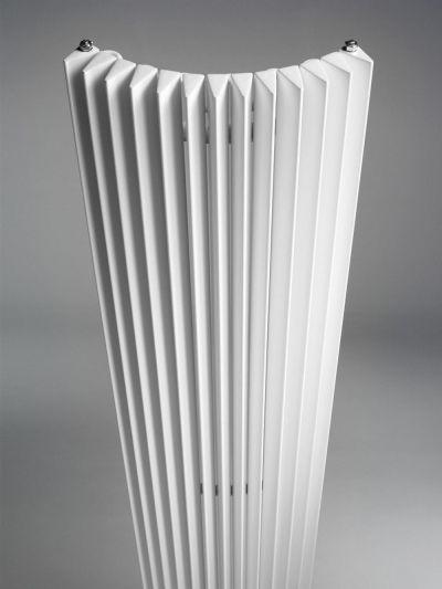 Calorifere decorative de colt Jaga Iguana Corner 2400x272 mm, 1242 W