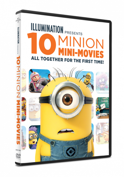 10 Minion Mini-Movies Collection - DVD