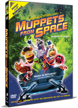 Muppets in spatiu / Muppets from Space - DVD