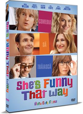 Viata bate filmul / She's Funny That Way - DVD