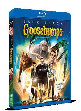 Goosebumps: Iti facem parul maciuca / Goosebumps - BLU-RAY