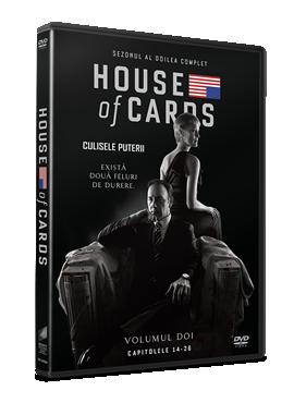 Culisele Puterii / House of Cards - Sezonul 2 - DVD (4 discuri DVD)
