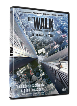 The Walk: Sfideaza limitele / The Walk - DVD