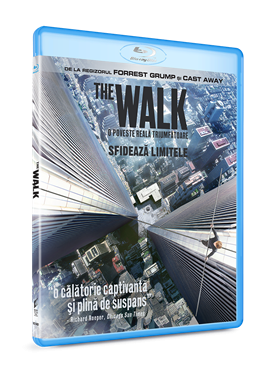 The Walk: Sfideaza limitele / The Walk - BLU-RAY