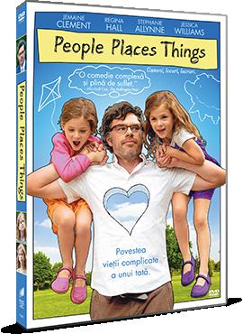 Oameni, locuri, lucruri / People Places Things - DVD
