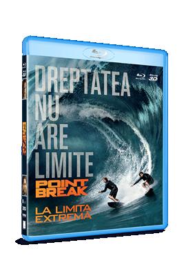 La limita extrema / Point Break - BLU-RAY 2D si 3D