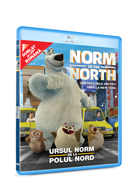 Norm de la Polul Nord / Norm of the North - BLU-RAY