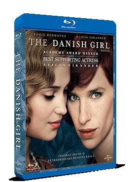 Daneza / The Danish Girl - BLU-RAY