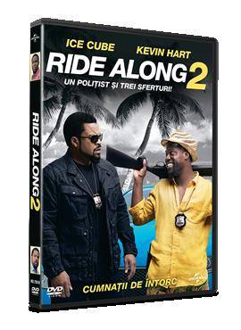 Un politist si trei sferturi / Ride Along 2 - DVD