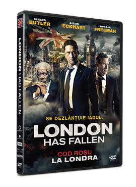 Cod rosu la Londra / London Has Fallen - DVD