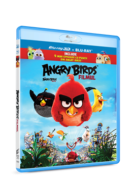 Angry Birds: Filmul / The Angry Birds Movie - BLU-RAY 3D+2D