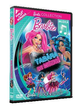 Barbie in Tabara de Muzica / Barbie in Rock 'N Royals - DVD