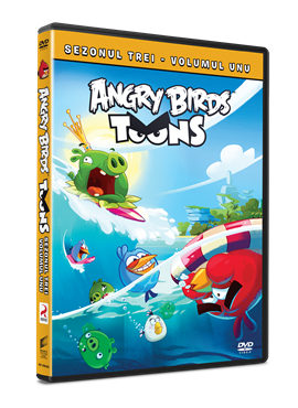 Angry Birds Toons Sezonul 3 Volumul 1 - DVD