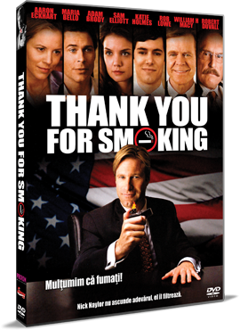 Multumim ca fumati! / Thank You For Smoking - DVD