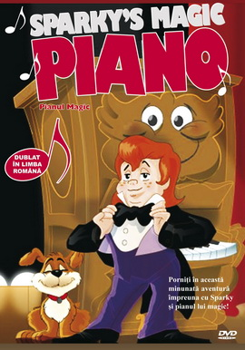 Pianul Magic / Sparky's Magic Piano - DVD
