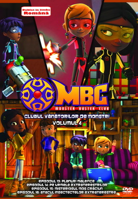 Clubul Vanatorilor de Monstri / Monster Buster Club - Volumul 4 - DVD