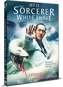 Legenda Sarpelui Alb / The Sorcerer and the White Snake - DVD