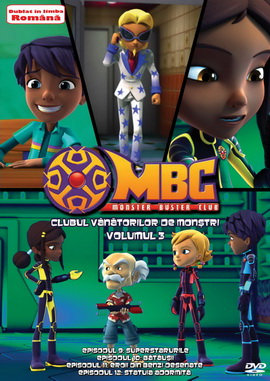 Clubul Vanatorilor de Monstri / Monster Buster Club - Volumul 3 - DVD