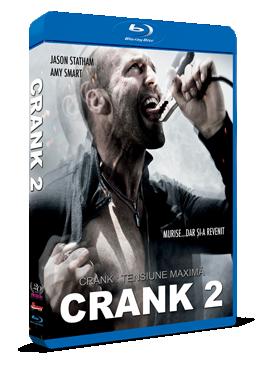 Crank 2: Tensiune maxima / Crank 2: High Voltage - BLU-RAY