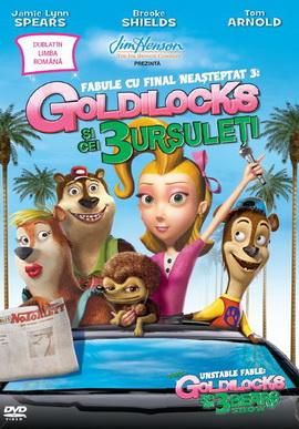 Fabule cu final neasteptat 3: Goldilocks si cei trei ursuleti / Unstable Fable 3: Goldilocks and 3 Bear Show - DVD