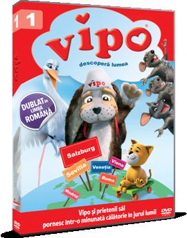 Vipo descopera lumea / Vipo: Adventures of the Flying Dog - Sezonul 1 Volumul 1 - DVD