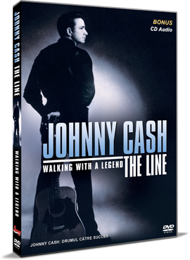 Johnny Cash: Drumul catre succes / Johnny Cash: Walking with a Legend - DVD