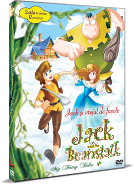 Jack si vrejul de fasole / Jack and the Beanstalk - My Fairy Tales - DVD