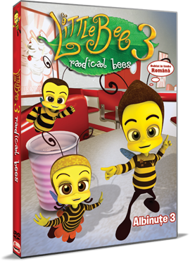 Albinute 3 / Little Bee 3: Radical Bees - DVD