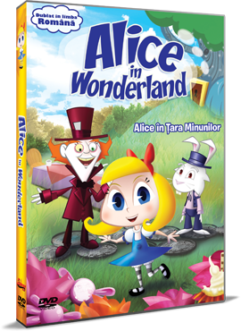 Alice in Tara Minunilor / Alice in Wonderland - DVD