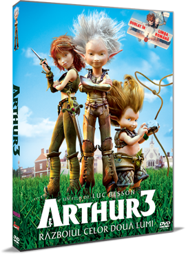 Arthur 3: Razboiul celor doua lumi / Arthur 3: La Guerre des Deux Mondes - DVD