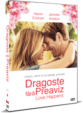 Dragoste fara preaviz / Love Happens - DVD