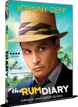 Jurnalul unui iubitor de rom / The Rum Diary - DVD
