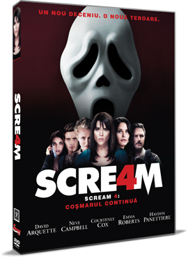 Scream 4: Cosmarul continua / Scream 4 - DVD